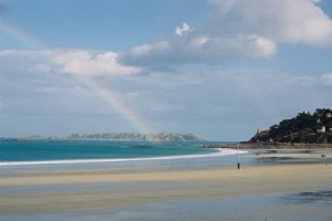 La plage de Trestraou